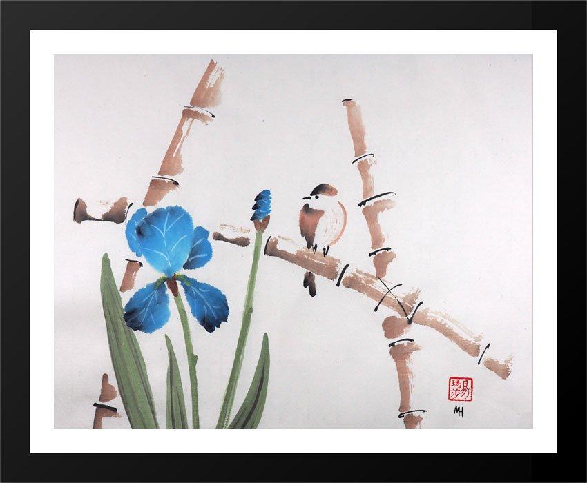 Bird with Iris